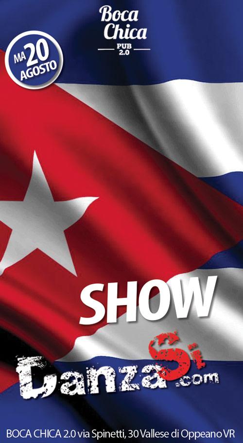 Serata latina al BOCA CHICA 2.0 - Show DanzaSi
